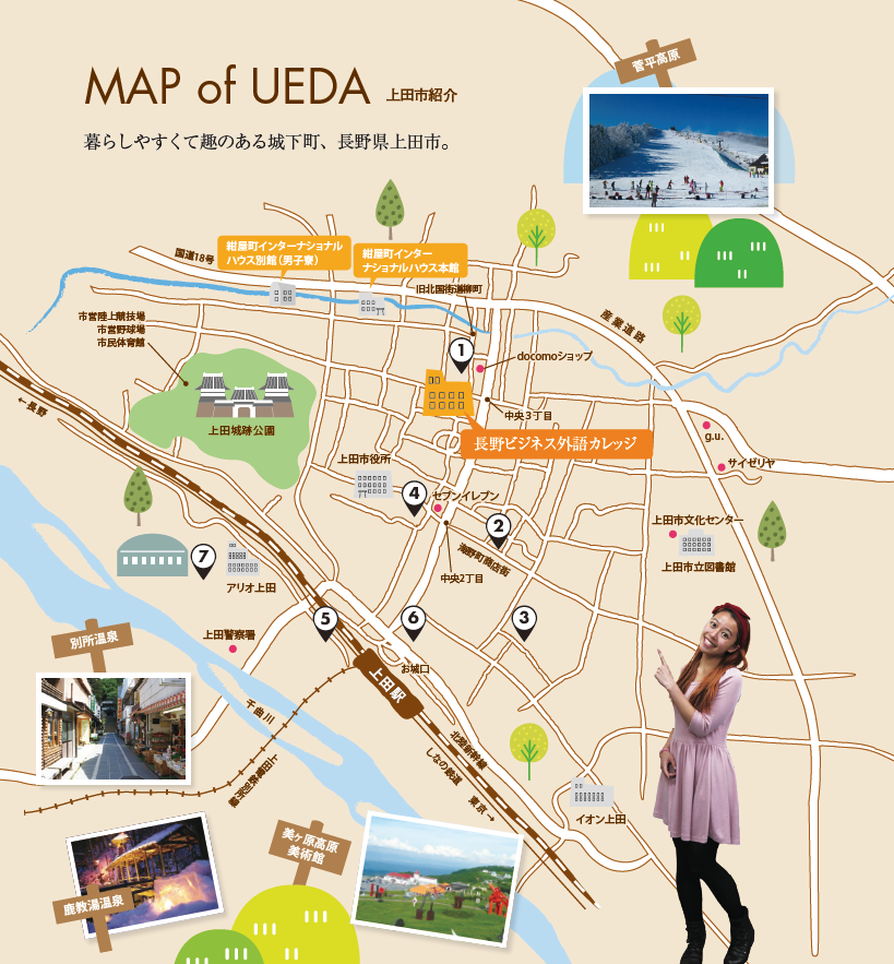 NBL-Map of UEDA